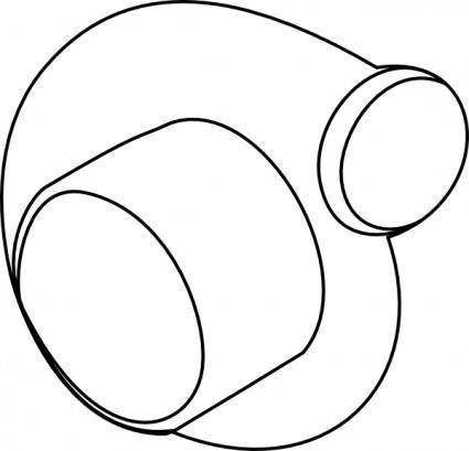 Turbo Compressor clip art
