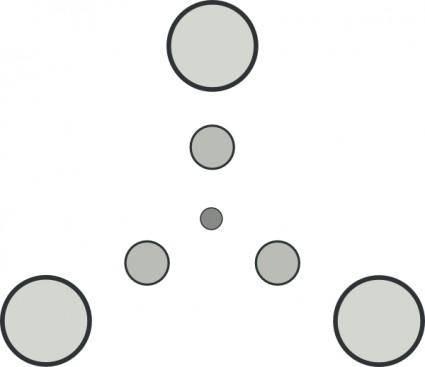 free vector Triangular Star Shape clip art