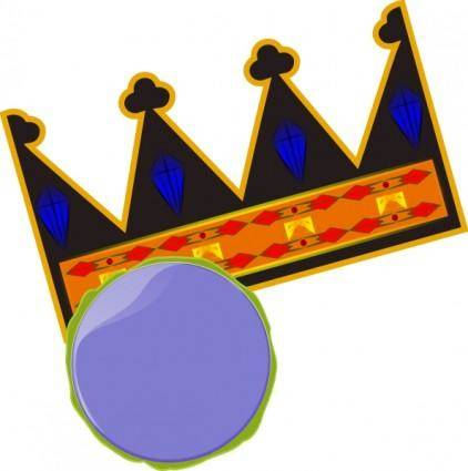 free vector Crown clip art