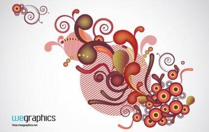 free vector WG Funny Swirls Vol1