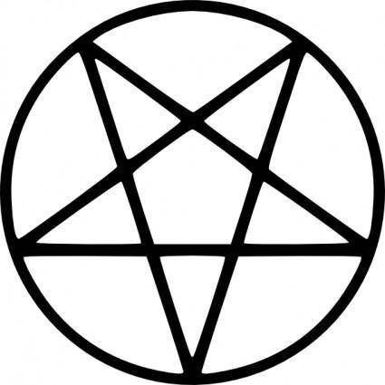 Pentagram Bold clip art