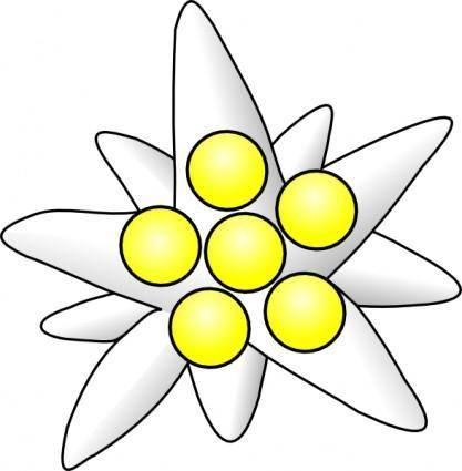 Flower Circles clip art