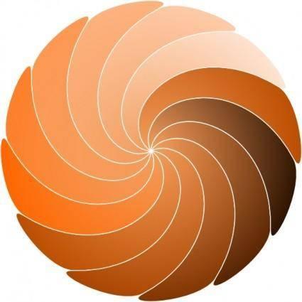 Spiral Shape clip art