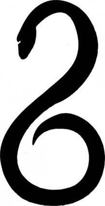 free vector Serpent clip art