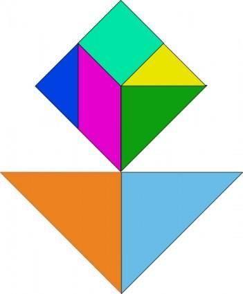 free vector Tangram-14 clip art