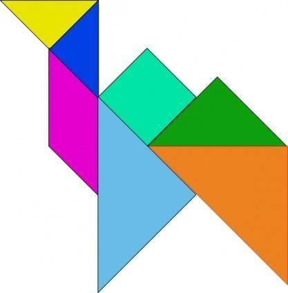 free vector Tangram-16 clip art