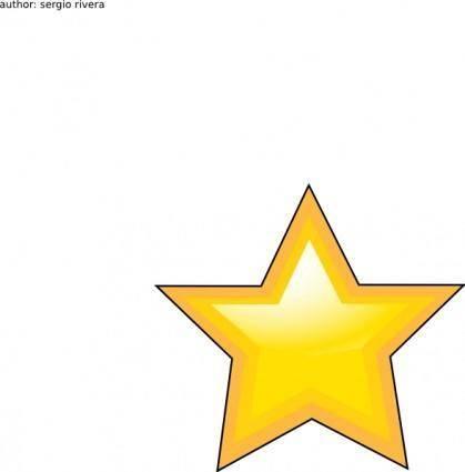 Estrella clip art