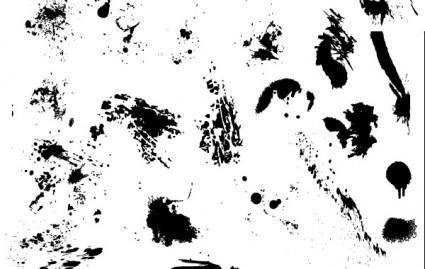 free vector 25 Free Vector Drips, Drops, and Splatters