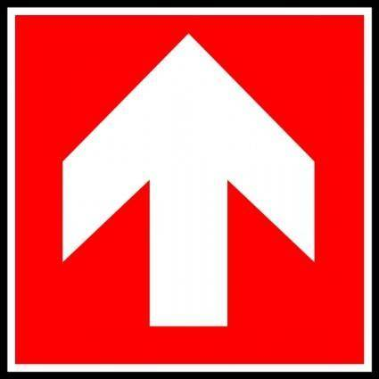 free vector Direction    Suivre 4 clip art