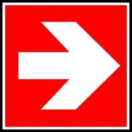 Direction    Suivre 3 clip art