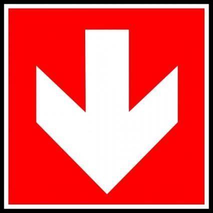 free vector Direction    Suivre 1 clip art