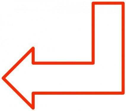 Simple Arrows clip art