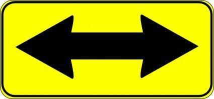 free vector Double Arrow Sign clip art
