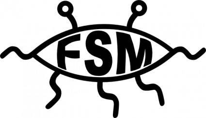 Flying Spaghetti Monster clip art