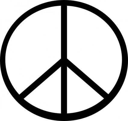 Peace Symbol (transparent Fix) clip art
