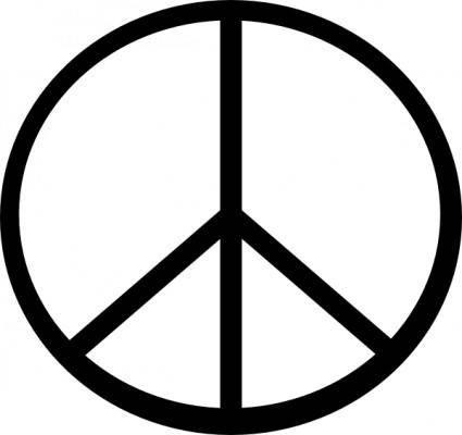 Peace Symbol clip art