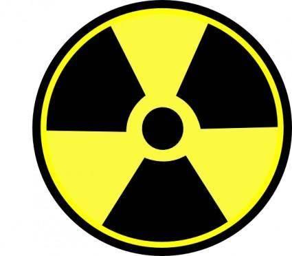 free vector Radioactive Sign clip art