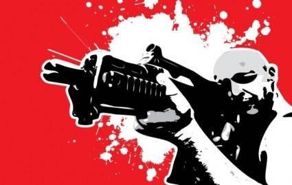 free vector Gun Series