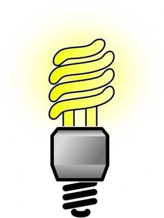 free vector Cfbulb-brightlit clip art