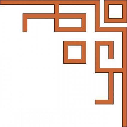 free vector Orleans_express_upper_right_corner clip art