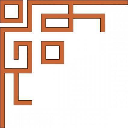 free vector Orleans_express_upper_left_corner clip art