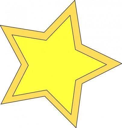 Star_double clip art
