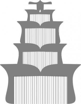 Pagoda  clip art