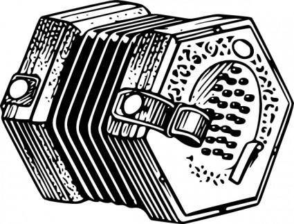free vector Concertina clip art