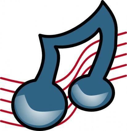 Musical Symbol Bold clip art