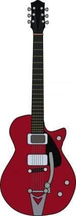 free vector Jet Firebird Guitar clip art