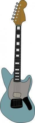 Fender Jagstang Guitar clip art