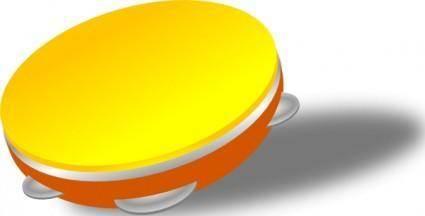 free vector Tambourine Riq clip art