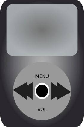 Ipod Music Player clip art