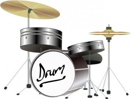 free vector Drum Kit clip art