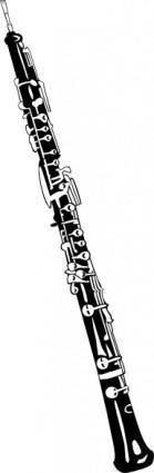 Oboe clip art