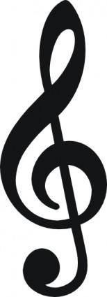 Music Sign clip art