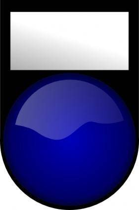 Blue Gadget clip art