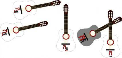Rock Guitars clip art
