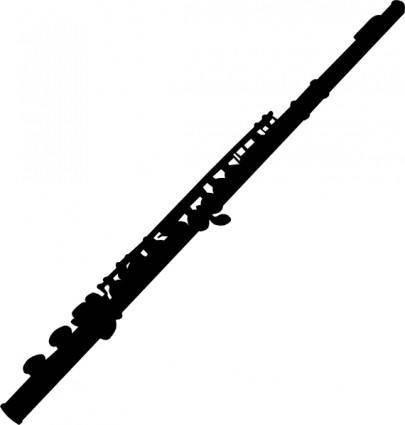 Flute clip art 114212