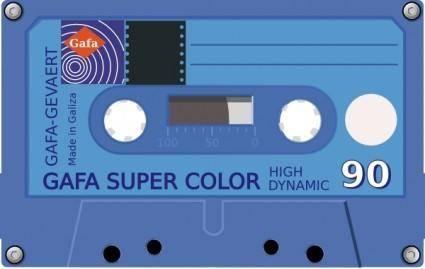 free vector Compact Cassette clip art