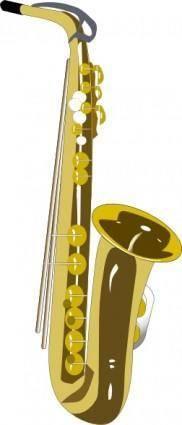 Saxaphone clip art