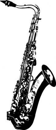 Saxophone clip art