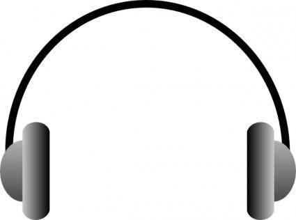 Casque Audio clip art