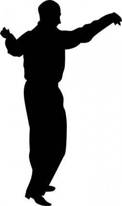 Dancing Guy clip art