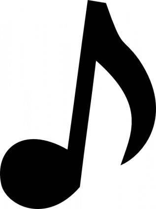 Musical Note 2 clip art