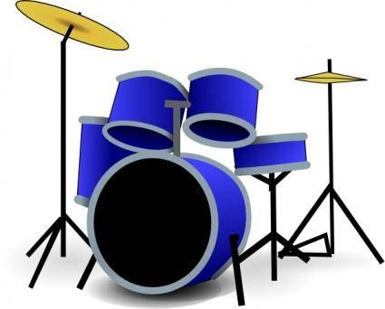 free vector Drums clip art