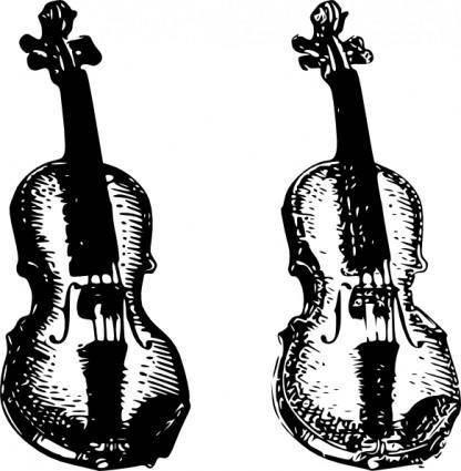 free vector Violin clip art