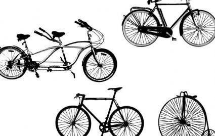 Vector Art: Bikes