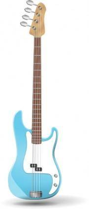 free vector Bass-guitar clip art