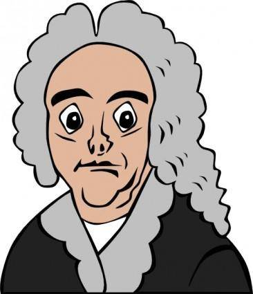 free vector Handel Cartoon clip art